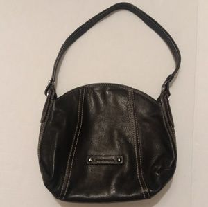 Francesco  biasia black leather purse